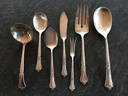 State House Sterling Stately Flatware. Post 1940s. 8 Place Setting