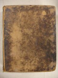 1803 Kjv Bible. Printed By Sage And Plough, New York. Owners Signature.