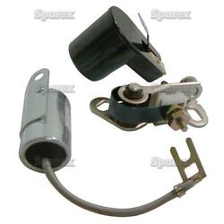 Ignition Tune-up Kit For Ford Tractor 3400 3500 3550 4400 4500 5500 5550 Backhoe