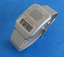 Talking Watch With Alarm Choice Of English Or Spanish