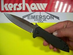 KERSHAW EMERSON CQC 4KXL X Large 3.9quot; blade INSTANT OPENING wave knife 6055