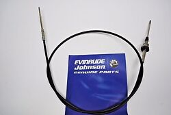 New Johnson Evinrude Oem Electric Trolling Motor 5and039 Steering Cable 432936 397451