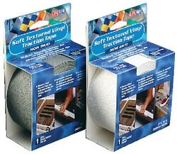 New Textured Vinyl Traction Tape Boxed Rolls Incom Re3955 2 W X 15and039 L White