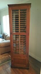 Vintage E.h. Sheldon And Co. Lab Filing Cabinet