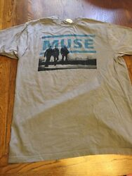 Muse The Resistance Tour T-shirt Size L Pre-owned
