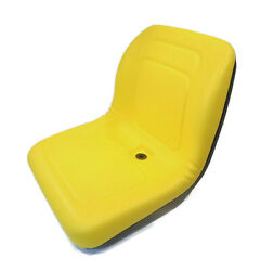 Yellow High Back Seat For John Deere Compact Tractors 4105 4200 4210 4300 4310