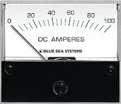 New Dc Analog Meters Blue Sea Systems 8017 Ammeter And Shunt 0-100a Dc