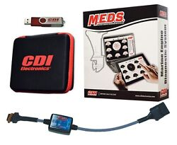 New M.e.d.s Total Diagnostic System Cdi Electronics 531-0119i4 Upgrade To Test M