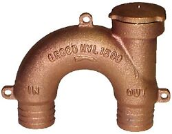 New Bronze Vented Loops Groco Hvl-1000 Hose 1