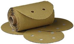 New Stikit Dust-free Gold Disc Roll 3m Marine 1643 Grade P80a 6 Gold