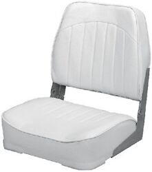 New Economy Fold Down Fishing Seat Wise Seating 8wd734pls717 Gray 18-1/2 D X 15