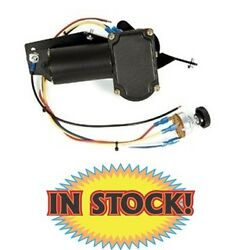 New Port Ne3738ct - 1937-38 Chevy And Gmc Truck Complete Wiper Motor Kit