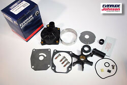 New Omc Johnson Evinrude Oem Outboard 60-70hp Water Pump Kit 438602 W Housing