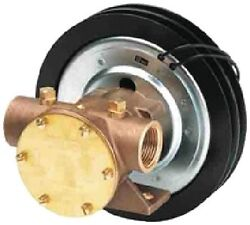New Bronze Electro-magnetic Clutch Pump Jabsco 118600005 23 Gpm Impeller Nitrile