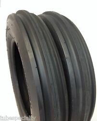 2 New Farmall Cub 4.00-12 Front Tractor Tires And Tubes D/s