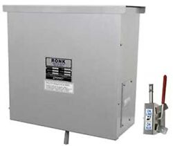 Ronk 9422 Meter-rite Double Pole Manual Transfer Switch Pole Top 400a 240v