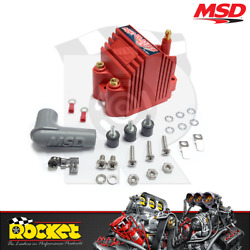 Msd Epoxy Blaster Ss Coil 12 Volt Ignition Red Fits Ford Chev And Holden - Msd8207