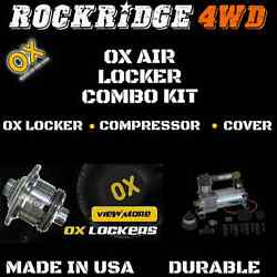 Ox Air Locker With Air Compressor Kit For Dana 60 4.10 And Down Ratio 35 Spline
