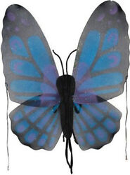 Morris Costumes Wings Butterfly Blue. FW8100BBU