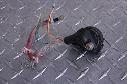 1984 Honda Ch 125 Elite Starter Relay Solenoid W/ Cable Wire Start Ch125 84