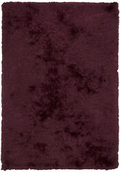 5x8and039 Chandra Rug Celecot Hand-woven Contemporary Shag Wool And Polyester Cel4704