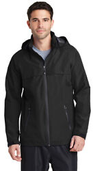 Port Authority Menand039s New Polyester Front Zippered Winter Waterproof Jacket. J333