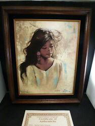 Native American Crow Artist Penni Anne Cross Title Springs Quiet Moment