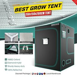 Mars Hydro 5and039x5and039 Indoor Grow Tent Plant Room 100reflective Mylar Home Box