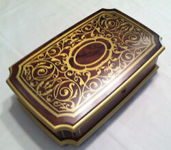Reuge Music Large Musical Jewelry Box With 30 Note Movement-minuetw.mozart