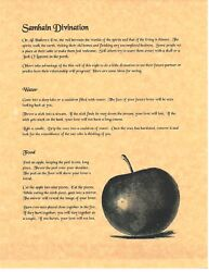 Book Of Shadows Spell Pages Apple Divination Wicca Witchcraft Bos