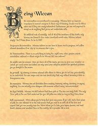 Book Of Shadows Spell Pages Being Wiccan Wicca Witchcraft Bos
