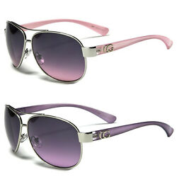 New Cg Classic Retro Women Fashion Metal Aviator Vintage Designer Sunglasses $8.79