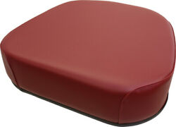 30-3225275 Claret Vinyl Seat Bottom Cushion For Oliver White 1650 ++ Tractor