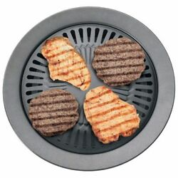 Chefmaster Smokeless Indoor Stovetop Barbecue Grill Ktgr5 High Quality Non Stick