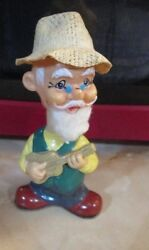 wind up toy hillbilly guitar man alps