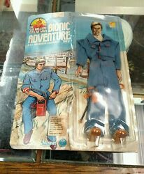 six million dollar man 1976 figure bionic