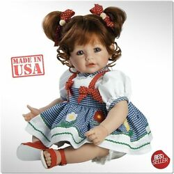 reborn baby doll girl toddler real vinyl