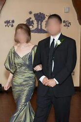 Chris Kole Couture Mother Of The Bride Or Groom Dress, Classy, Mermaid, Green