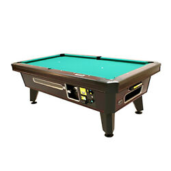 Valley Top Cat Coin-op Pool Table 93 W/ Push Chute