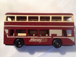 lledo mersey toy bus
