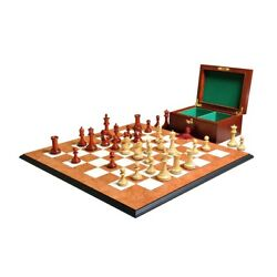 The Hastings Chess Set Box & Board Combination