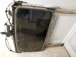2000 2001 2002 Lincoln Ls Complete Sunroof Frame Glass Motor Module