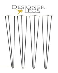 Premium Hairpin Table Legs 4 - 34 10 And 12mm Bar 4 Legs/set Made In England
