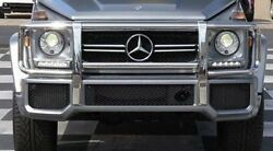 Mercedes-benz 2013-up G63 Amg Genuine Front Bumper Cover With Mesh Grilles New