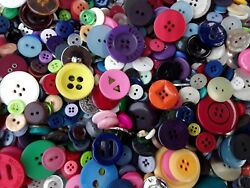Sewing Button Mix #1 Bulk Lots of 100 200 300 400 500 New and Vintage $16.45