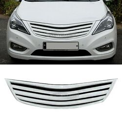 Front Radiator Front Generation Grille Cover For Hyundai 2012 - 2018 Azera Hg