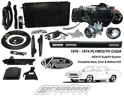 Plymouth CUDA wo AC 1970 - 1974 Air Conditioning Heat Defrost Vintage Air Kit