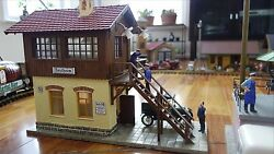 pola g scale switch tower model no 330914