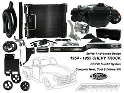 Vintage Air 1954-1955 Chevy Truck DELUXE 6 CYL Air Conditioning Defrost Heat Kit