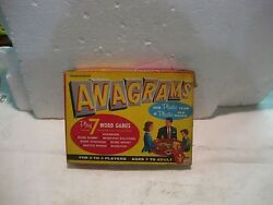 Rare Annograms 1957 Board Game   7 Games In All From Transogram     Gm144